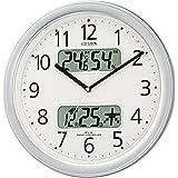 CITIZEN(西铁城) 电波挂钟 湿度万年历M01
