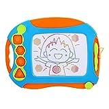 知育玩具シリーズ おもちゃのお絵かきボード 4色 カラフルお絵描きボード - Wishtime おえかき ボード 大きいサイズ (40x30cm) せんせい