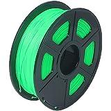 SODIAL 3D Printer Filament 1kg/2.2lb 1.75mm ABS Plastic for RepRap Mendel green