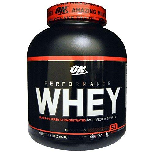 Optimum Nutrition オプティマム パフォーマンスホエイ 1.95Kg (チョコレートシェイク) [並行輸入品]