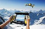 PARROT Bebop Drone + Skycontroller  Yellow イエロー 並行輸入品 パロット iPhone iPad ラジコン ヘリ ヘリコプター