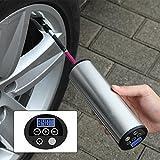 ieGeek 空気入れ スマートエアーポンプ 小型電動ポンプセット 自動車 ロードバイク ボール 浮き輪 対応 充電式 AP-101 C3(シルバー)
