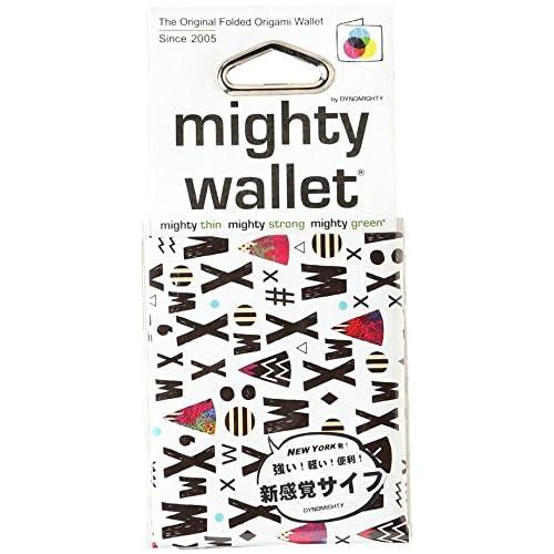 [マイティーウォレット] mighty wallet 2折財布 札入れ 水にも強い高密度ポリエチレン素材 ペーパーウォレット 2折財布 札入れ AAXX