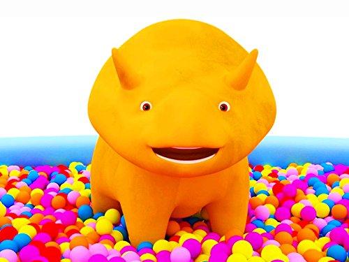 車たちと一緒に数字を学ぼう&ボールや風船を使って、恐竜のダイノと色を学ぼう