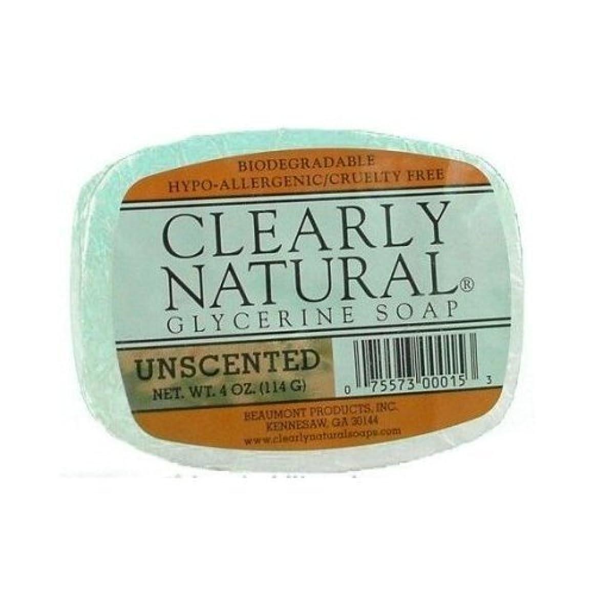 メモジョージバーナード憧れTrewax 明らかに自然無香料グリセリン石鹸