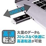 シリコンパワー USBメモリ 64GB USB3.1 & USB3.0 ヘアライン仕上げ 永久保証 Blaze B02 SP064GBUF3B02V1K