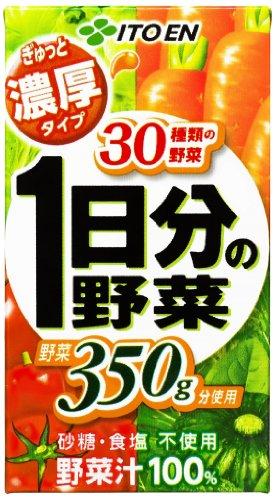 ぎゅっと濃厚1日分の野菜 紙パック 125ml ×24本