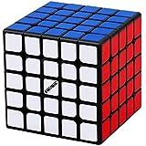 FAVNIC キューブ 魔方【磁石魔方】高級版 立体パズル 競技用 ポップ防止 プロ向け ブラック (【磁石魔方】5x5x5)