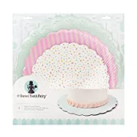American Crafts Sweet Tooth Fairy Accessories Serving Platters Color [並行輸入品]