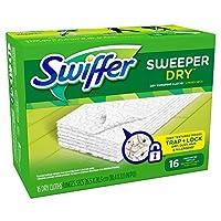 Swiffer(スイッファー) フロアワイパー 取替用 ドライシート 無香料 16枚
