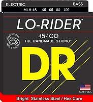DR ベース弦 LO-RIDER ステンレス .045-.100 MLH-45
