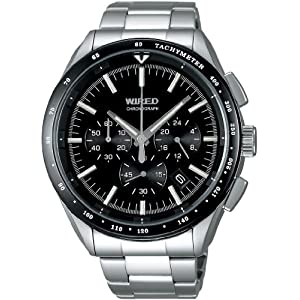 ワイアード]WIRED 腕時計 クロノグラフ AGAW401 メンズ