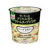 味の素 クノール スープDELI サーモンとほうれん草の クリームスープパスタ 40.3g×6個