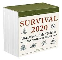 Survival 2020: Ueberleben in der Wildnis - Der Tageskalender