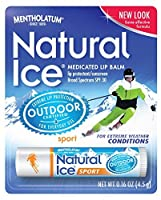 Natural Ice Lip Protectant/sunscreen sport SPF 30, 0.16-Ounce Tubes by Natural Ice
