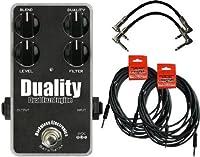 【 並行輸入品 】 Darkglass Duality Fuzz Bass Fuzz ペダル w/ 4 Cables