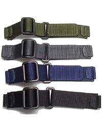 黒色 [ウェンガー]WENGER 腕時計 純正ナイロンベルト 黒色(ブラック)e優美堂が販売しAmazon.co.jp が発送します