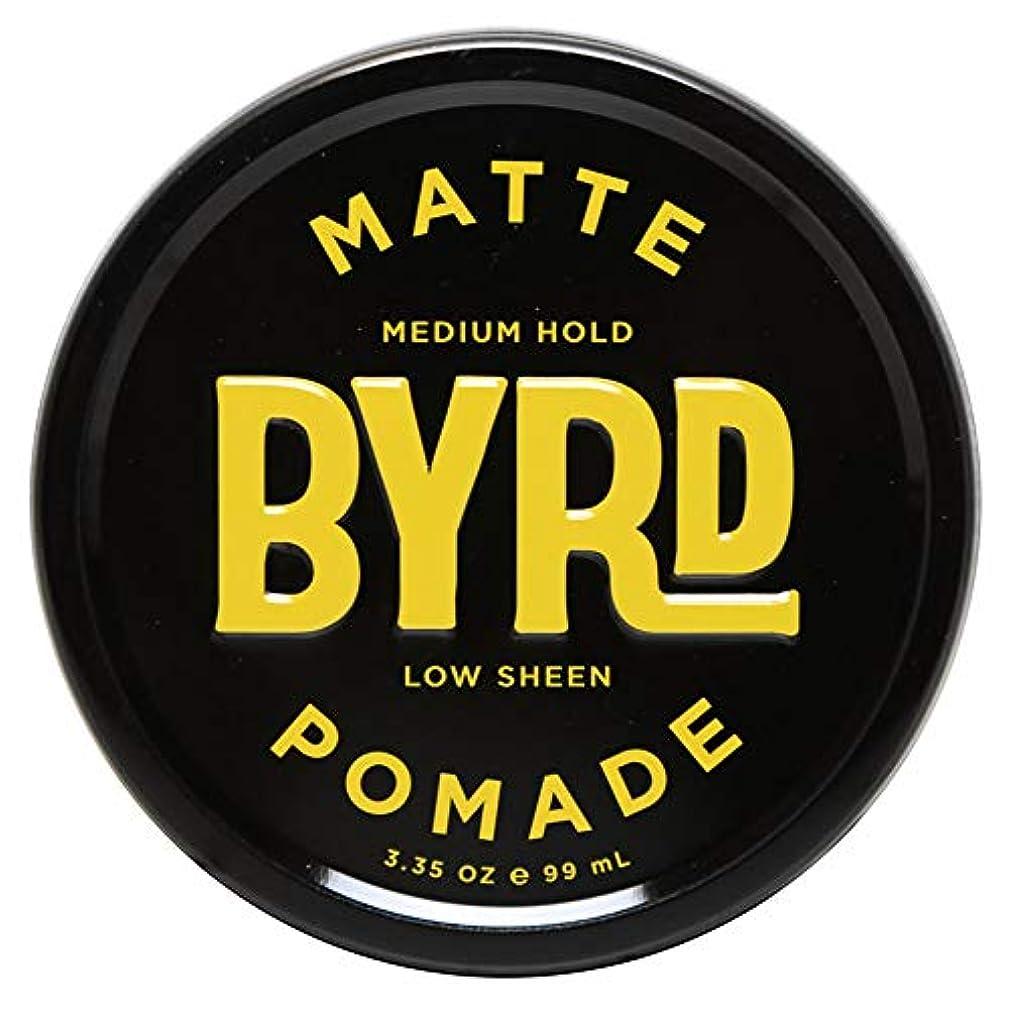クレデンシャル美容師追加BYRD バード MATTE POMADE 3.35OZ 99ml マット ポマード
