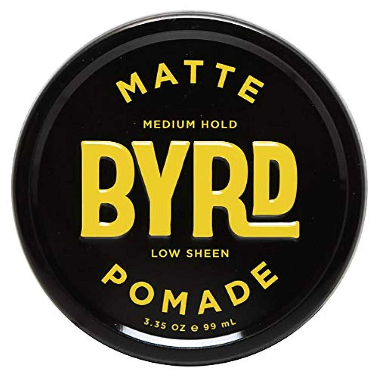 特派員機関車同様のBYRD バード MATTE POMADE 3.35OZ 99ml マット ポマード