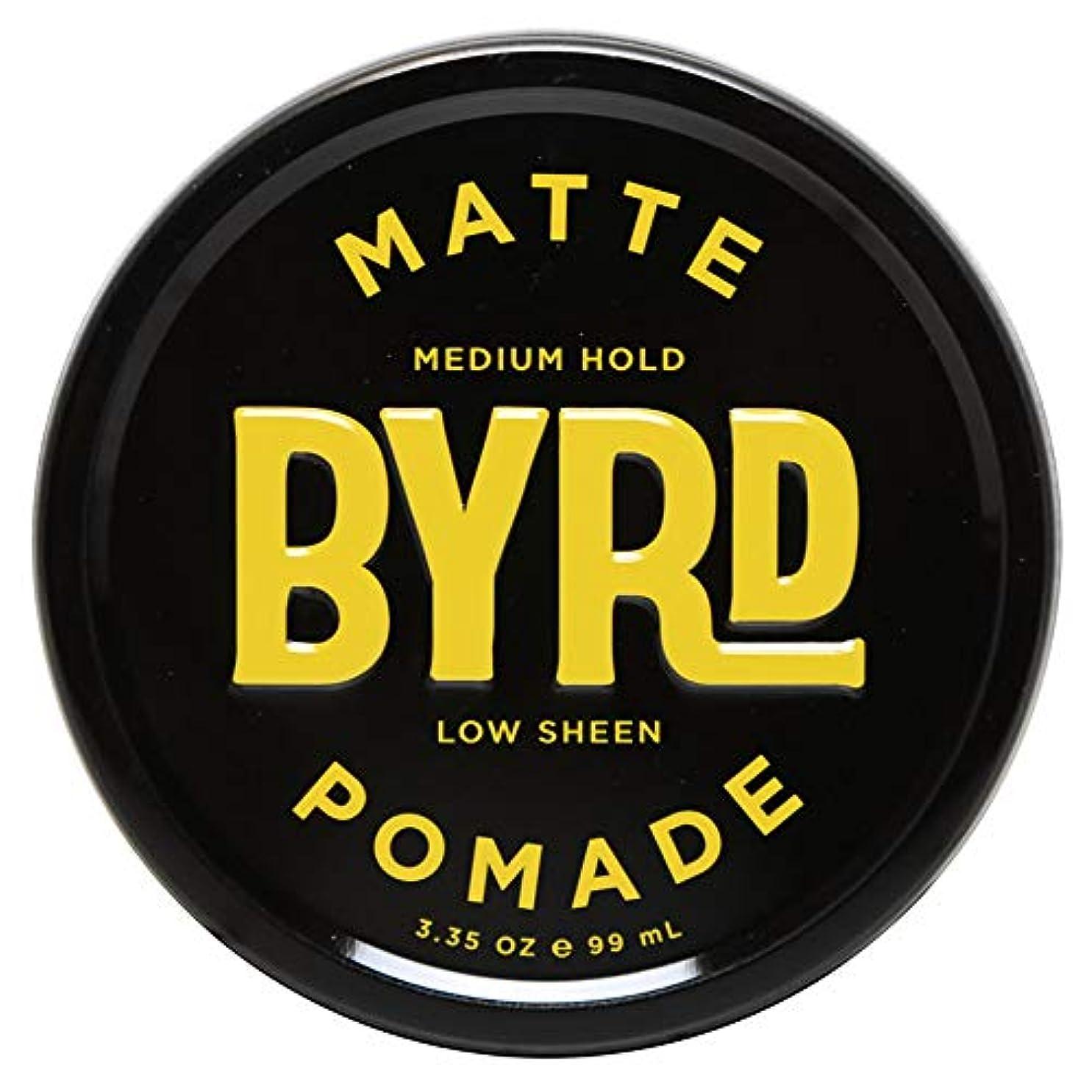 極めて重要な座る燃やすBYRD バード MATTE POMADE 3.35OZ 99ml マット ポマード