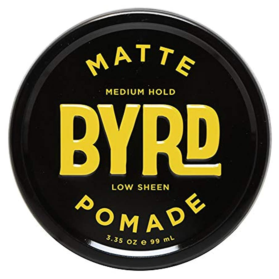 樹木和らげる単にBYRD バード MATTE POMADE 3.35OZ 99ml マット ポマード