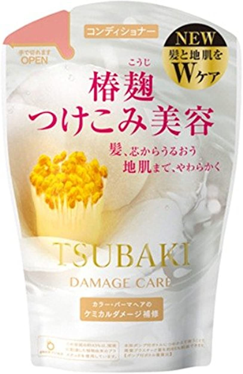 TSUBAKI ダメージケア コンディショナー つめかえ用 380mL