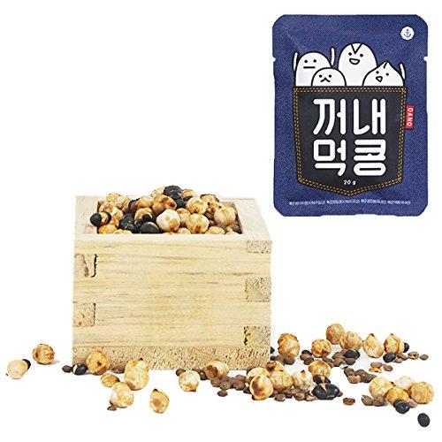 DANO(ダノ) ミックス素煎り豆 無添加 ひよこ豆・レンズ豆・黒豆使用 (20g×10袋入)