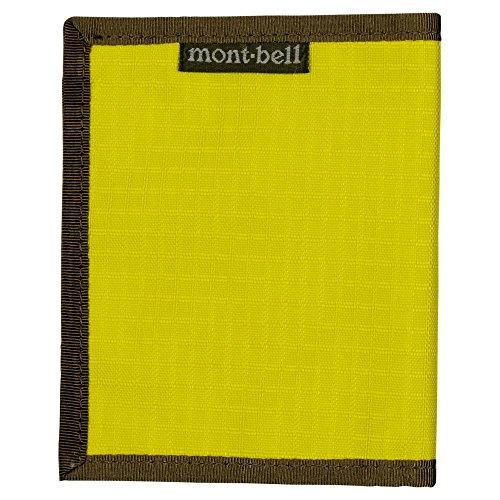 モンベル(mont‐bell) スリムワレット シトロンイエロー CYL