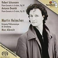 Schumann, Dvorak: Piano Concertos