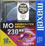 maxell 3.5インチMO 230MB 10枚入りケース MA-M230.B10P