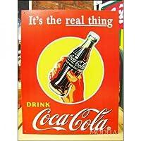 アメリカンブリキ看板 コカ・コーラ 本当の物