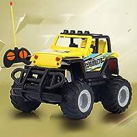 Ycco リモートコントロールカー高速オフロード車のおもちゃ車の子供のワイヤレスRCコントロールレーシングドリフトオープンRC車ロックオフロード車クライマートラック2.4Ghz 2WD高速 ( Color : E )