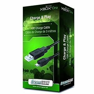 dreamGEAR XBOX ONE用 チャージ&プレー ブラック