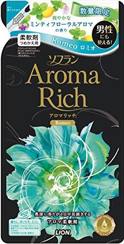 ソフラン アロマリッチ 柔軟剤 ロミオ 詰替 450ml