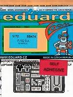エデュアルド 1/72 F-102 メンモデル用 EDUSS474