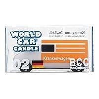 カメヤマキャンドル( kameyama candle ) ワールドカーキャンドル救急車(ドイツ)