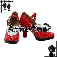 ●●サイズ選択可●●男性27.5CM MJR1486 コスプレ靴 ブーツ 問題児たちが異世界から来るそうですよ? 黒ウサギ