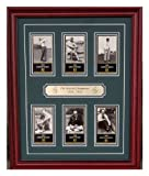 Masters Tournament champions 1934 Thru 1939 Framed