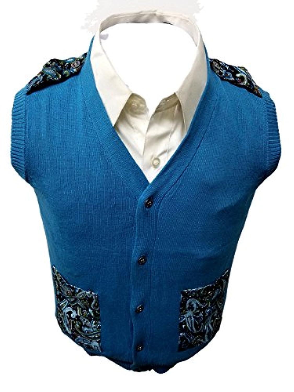 Viero Richi SWEATER ボーイズ カラー: ブルー