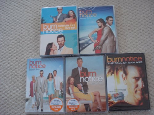 Burn Notice - Complete Season 1-5 Bundle & Fall of Sam Ax Movie