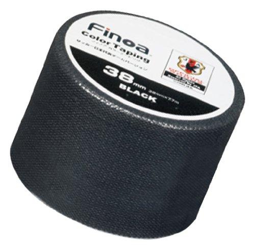 Finoa(フィノア) カラーテーピング サッカー日本代表チームバージョン ブラック (3.8cm×7.7m×1P) 1652