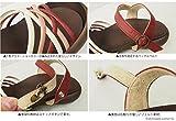 フィールドソールヒール・編み込みストラップサンダル/日本製 CJFD-5303 リゲッタカヌー画像③