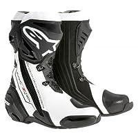 alpinestars(アルパインスターズ)バイクブーツ ブラック/ホワイトベンティッド (EUR 39/25.0cm) スーパーテックRブーツ0015