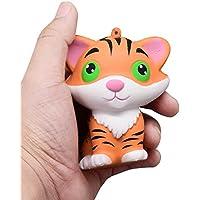 Slow Rising子供おもちゃ、Hunzed新しいジャンボSweet Tigerケーキクリーム香りつきケーキおもちゃAbreact Toy