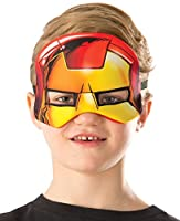 [ルービーズ]Rubie's Costume Marvel Universe Iron Man Child Costume Plush Eye Mask 32273_NS [並行輸入品]