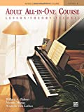 Adult All-In-One Course, Level 1: Lesson-Theory-Technic (Alfred's Basic Adult Piano Course)