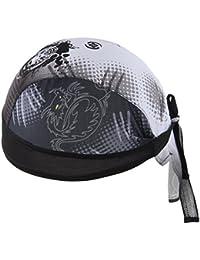 屋外 サイクリング 乗馬 通気性 速乾性 キャップ 帽子 海賊 スカーフ バンダナ 全16種類
