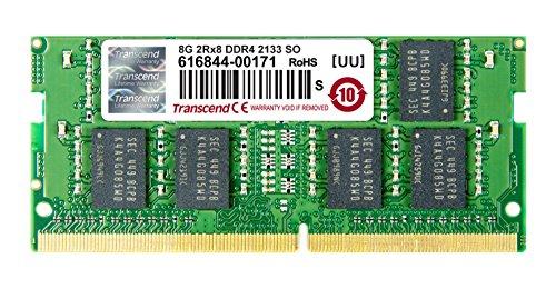 Transcend ノートPC用メモリ PC4-17000(DDR4-2133) 8GB 1.2V 260pin SO-DIMM TS1GSH64V1H B00V81JJIE 1枚目