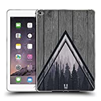 Head Case Designs Pine Trees Nature Wood Prints iPad Air 2 (2014) 専用ソフトジェルケース