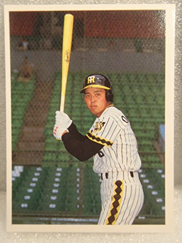 昔のカード 駄菓子屋 骨董品 プロ野球カード 阪神タイガース 岡田 彰布 16